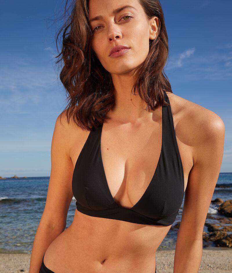 Bikini-Dreiecksform mit Foulard ohne Bügel;${refinementColor}