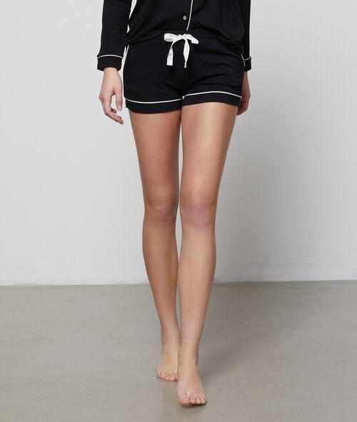 Zweifarbige Shorts