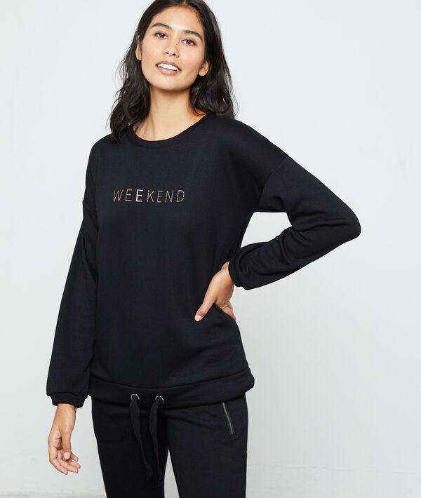 "T-shirt à manches longues ""Weekend"""