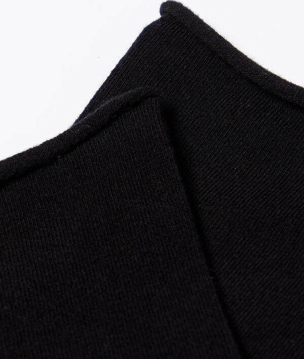 2 paires de chaussettes en coton bio;${refinementColor}