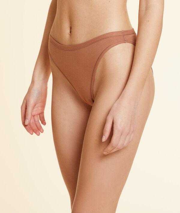 """Panty """"High Legs"""" aus dehnbarer Bio-Baumwolle;${refinementColor}"""