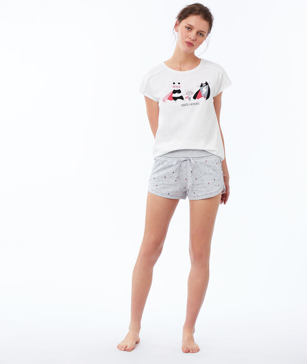 T-Shirt mit Print;${refinementColor}
