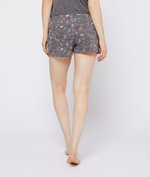 Shorts mit Federn