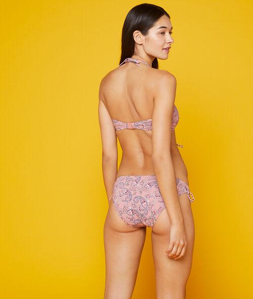 Bas de bikini simple imprimé