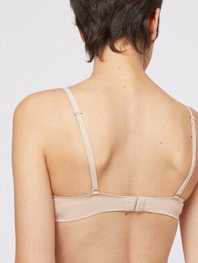 Soutien-gorge n°5 - ampliforme classique, bonnets a/b/c beige/ peau.