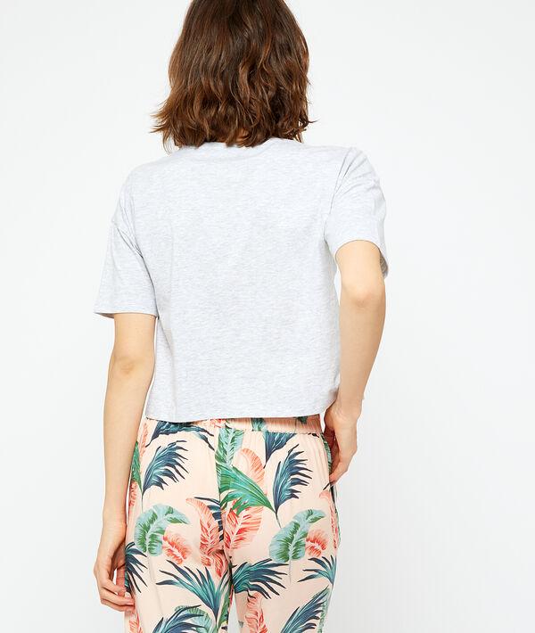 """T-Shirt aus Bio-Baumwolle """"paradise"""";${refinementColor}"""