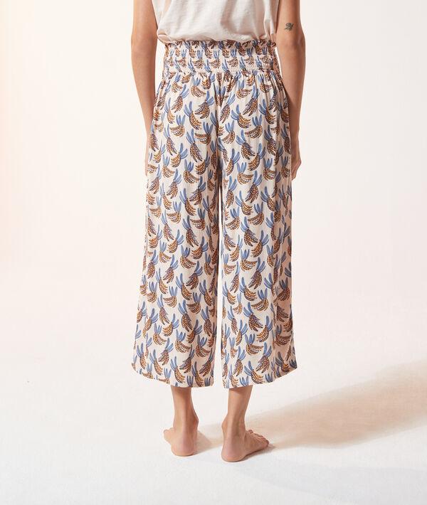 3/4-Pyjamahose mit Print;${refinementColor}