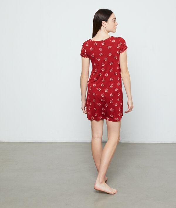 Nachthemd mit Print;${refinementColor}