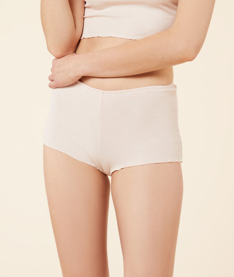 Rippenstrick-Shorts;${refinementColor}