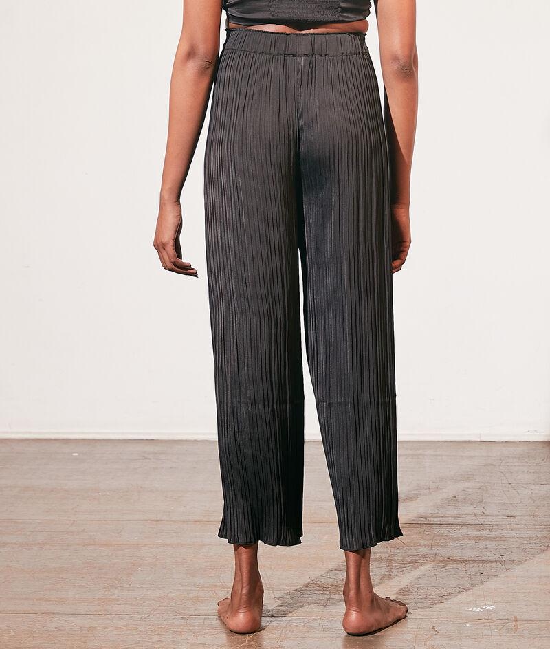 Pantalon de pyjama plissé;${refinementColor}