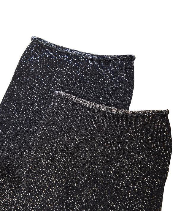 Chaussettes en fibres métallisées;${refinementColor}