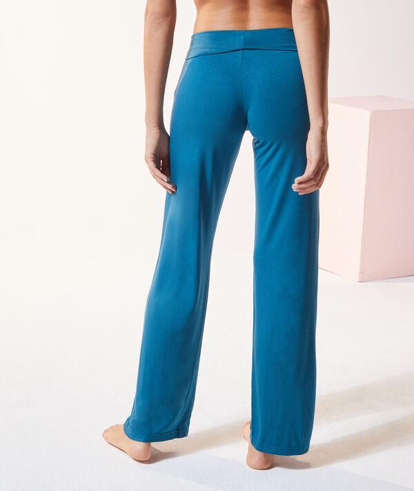 Pantalon taille haute;${refinementColor}
