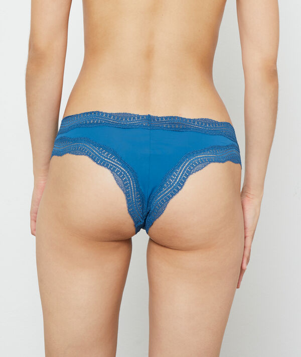 Tanga bords dentelle graphique;${refinementColor}