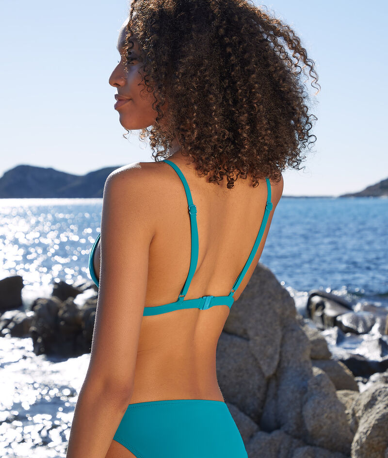 Bikini-Dreiecksform mit Trägern ohne Bügel;${refinementColor}