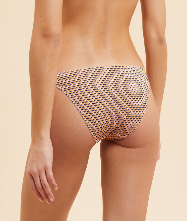 Panty mit graphischem Print;${refinementColor}