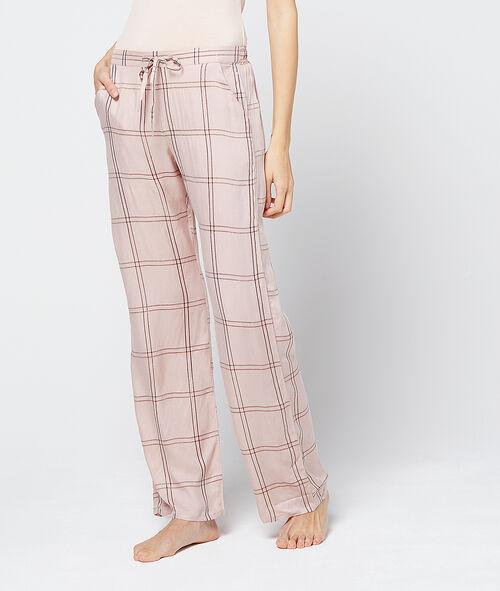 Pantalon imprimé tartan