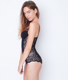 Lace shaping body schwarz.