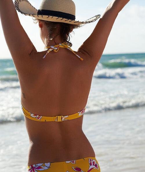 Bikinioberteil mit Push-up, Schleife vorne