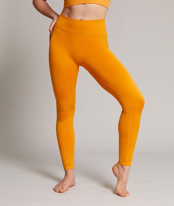 Lange nahtlose Yoga-Leggings;${refinementColor}