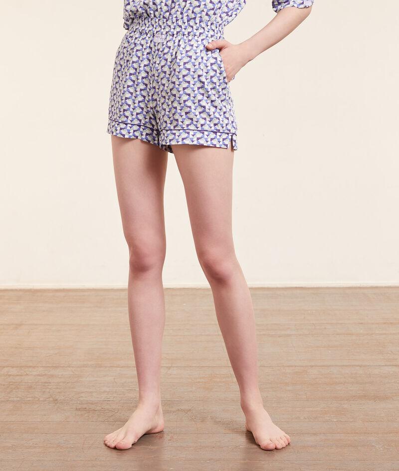 Short de pyjama imprimé;${refinementColor}