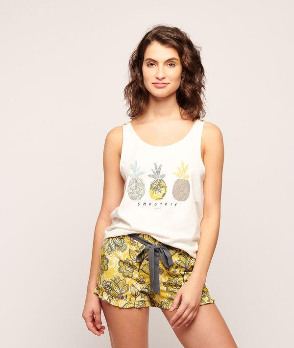 "T-Shirt mit Print ""Smoothie"";${refinementColor}"