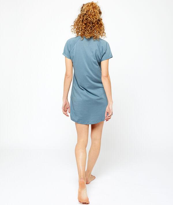 Nachthemd mit Ananas-Print;${refinementColor}