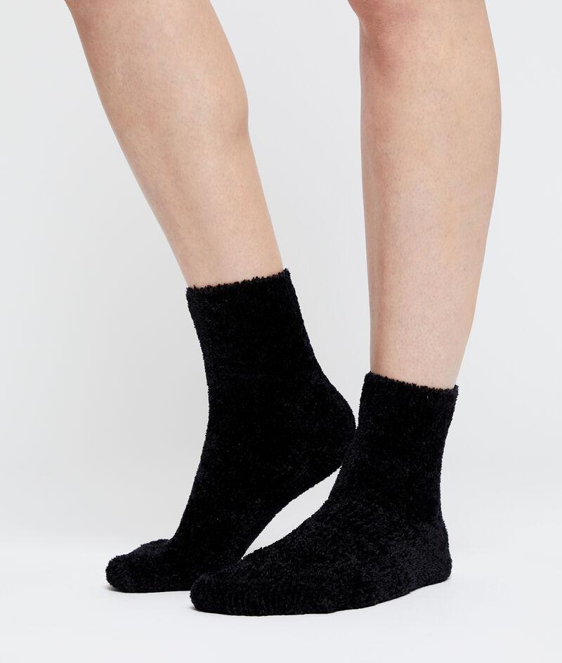 Seidig schimmernde Socken;${refinementColor}