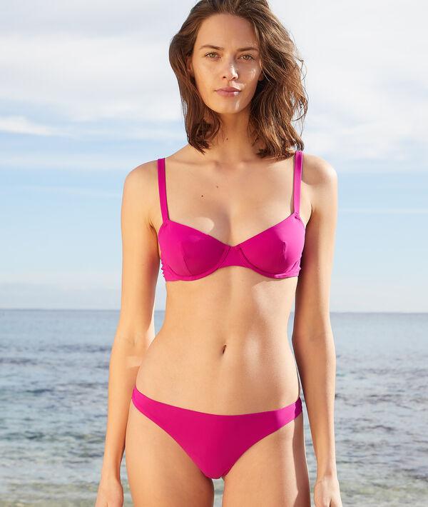 Bikinioberteil mit Körbchen ohne Schalen;${refinementColor}
