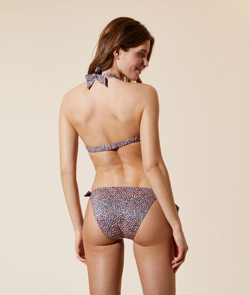 Bikinioberteil in Dreiecksform, herausnehmbare Pads;${refinementColor}