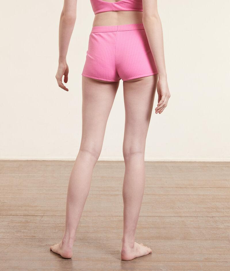 Shorts mit Boy-Legs aus geripptem Strickgewebe;${refinementColor}