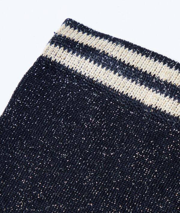 Socken mit Metallic-Fasern;${refinementColor}