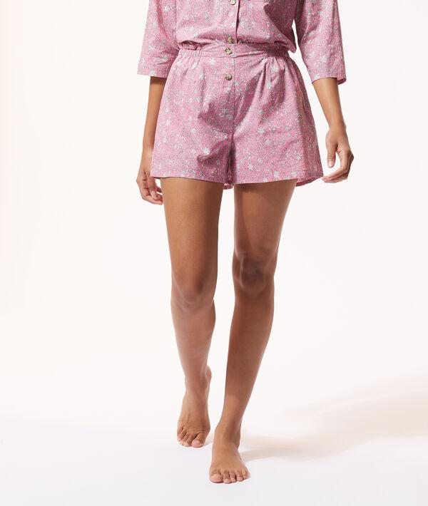 Pyjama-Shorts mit Print;${refinementColor}