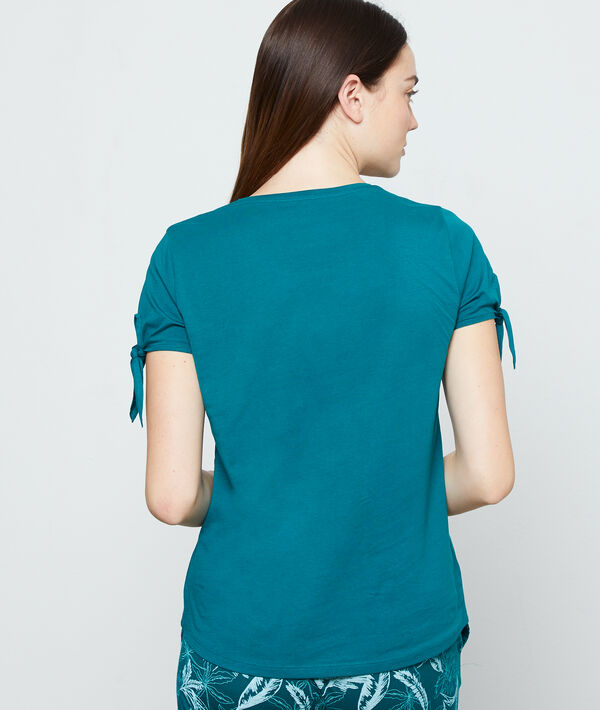 "T-Shirt aus Bio-Baumwolle ""beach, uluru, paradise"";${refinementColor}"
