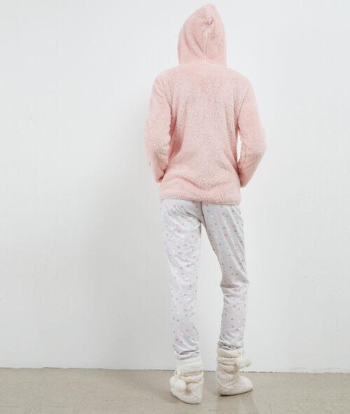 Pyjama trois pièces imprimé moutons