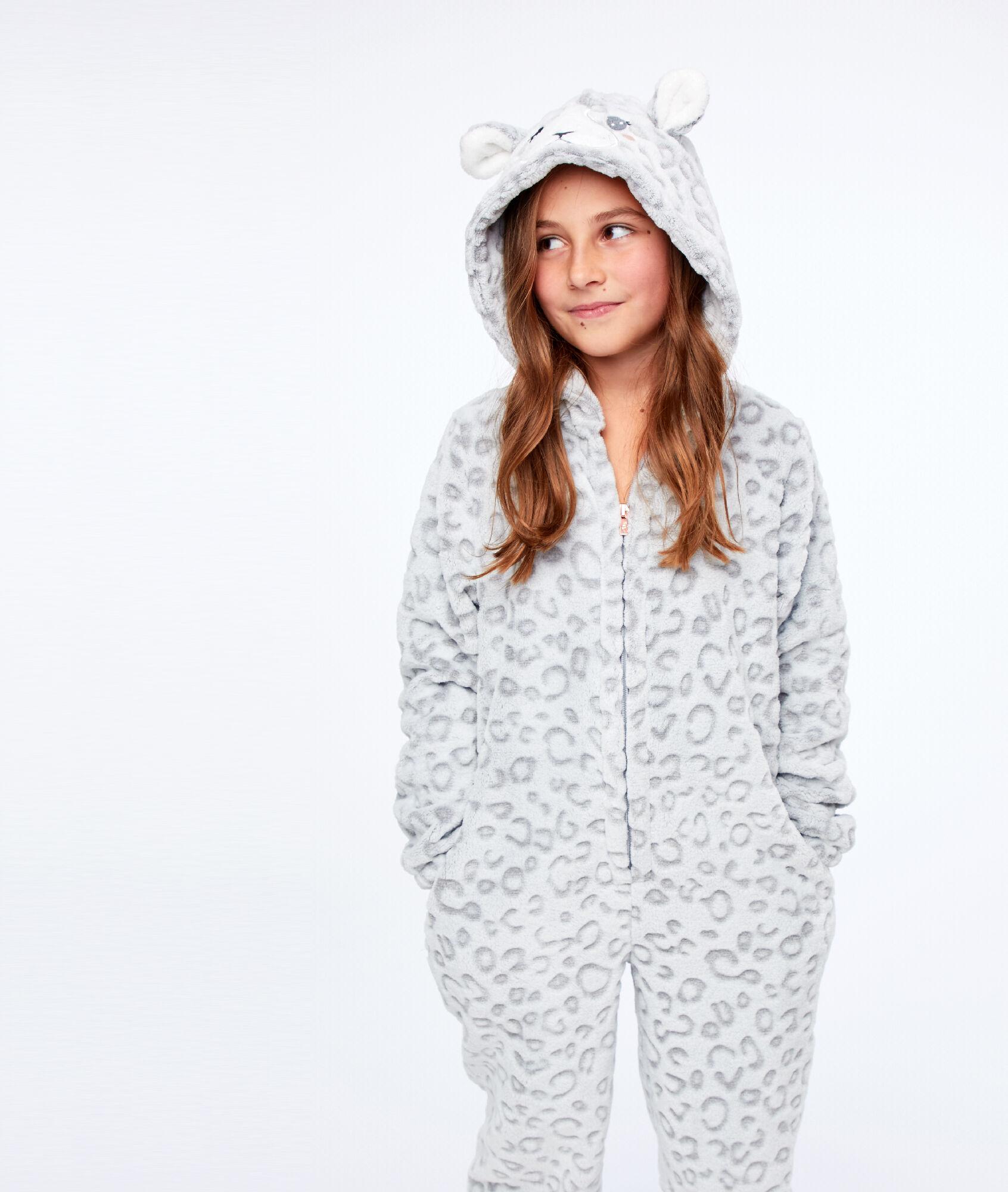 012af3af9e2ef Combinaison pyjama Panthère enfant - MALINE - GRIS - Etam