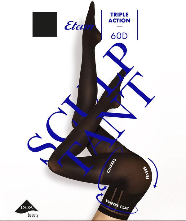 Collant sculptant triple action - 60D;${refinementColor}
