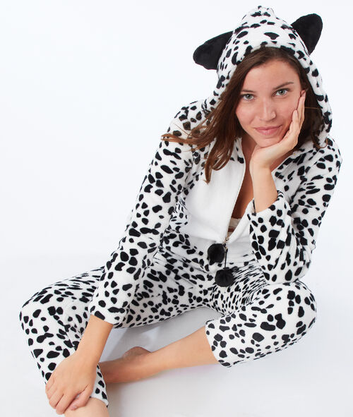 Combinaison pyjama dalmatien