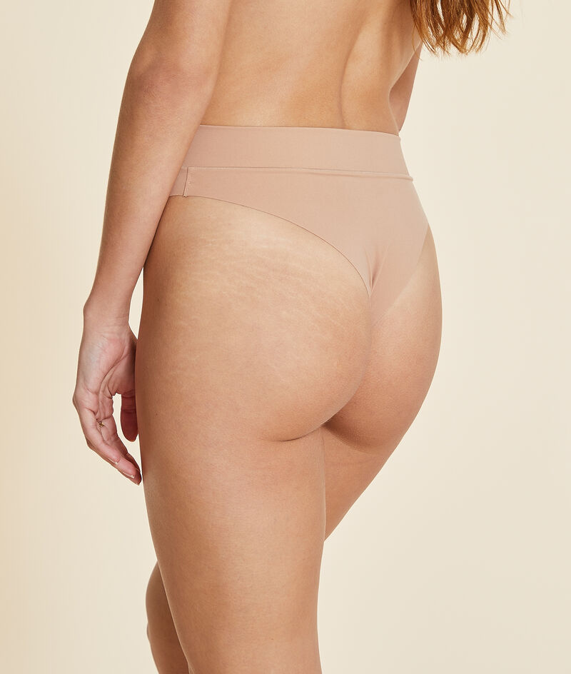 Panty mit hoher Taille, High Leg, Brazilian;${refinementColor}
