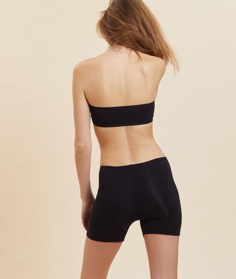 Radler-Shorts aus dehnbarer Bio-Baumwolle;${refinementColor}