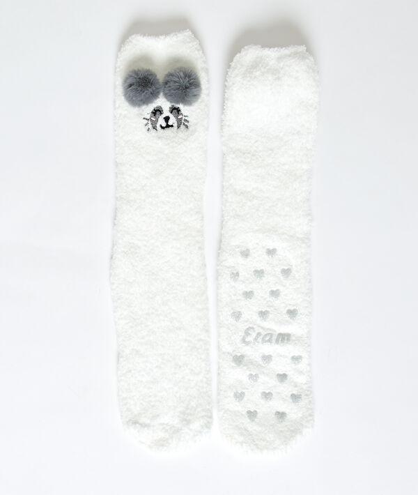 Homewear-Socken Panda;${refinementColor}