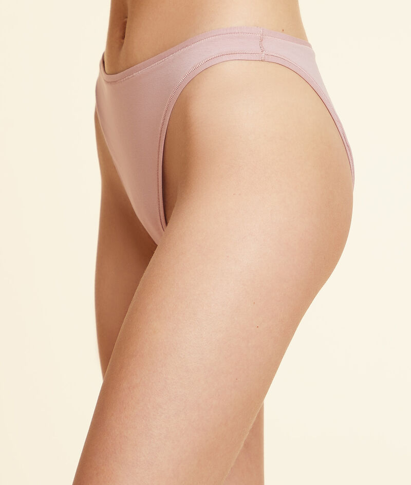 Panty High Legs aus Baumwolle;${refinementColor}