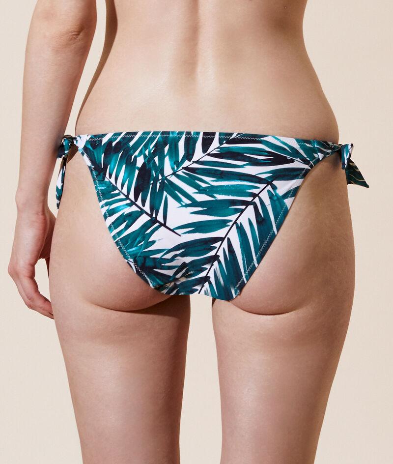 Einfaches Bikiniunterteil mit Schleifen;${refinementColor}