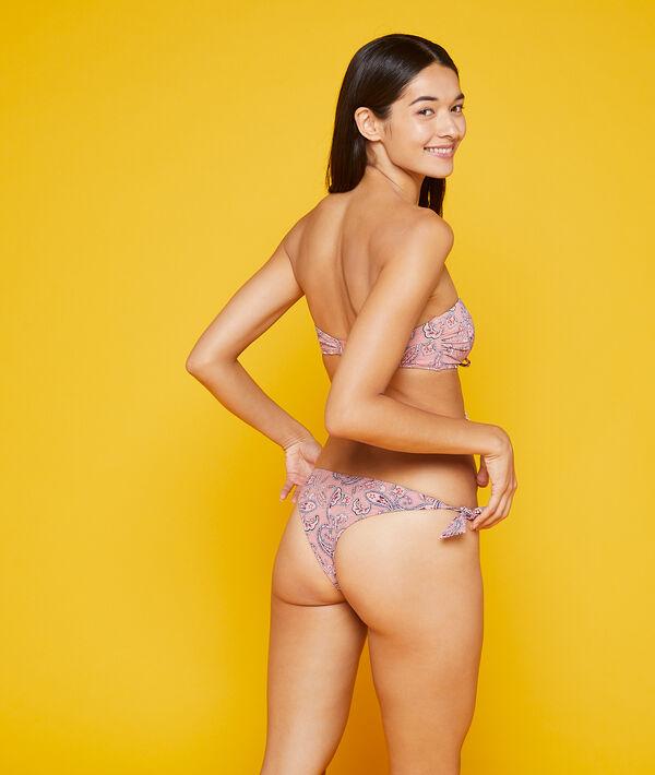 Brazilian-Bikiniunterteil mit Schleifen