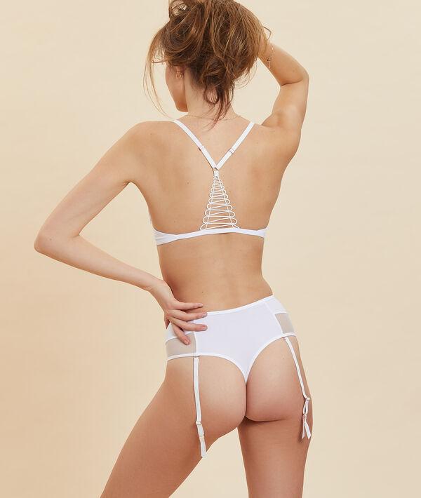 Panty mit hoher Taille, Strumpfhalter;${refinementColor}