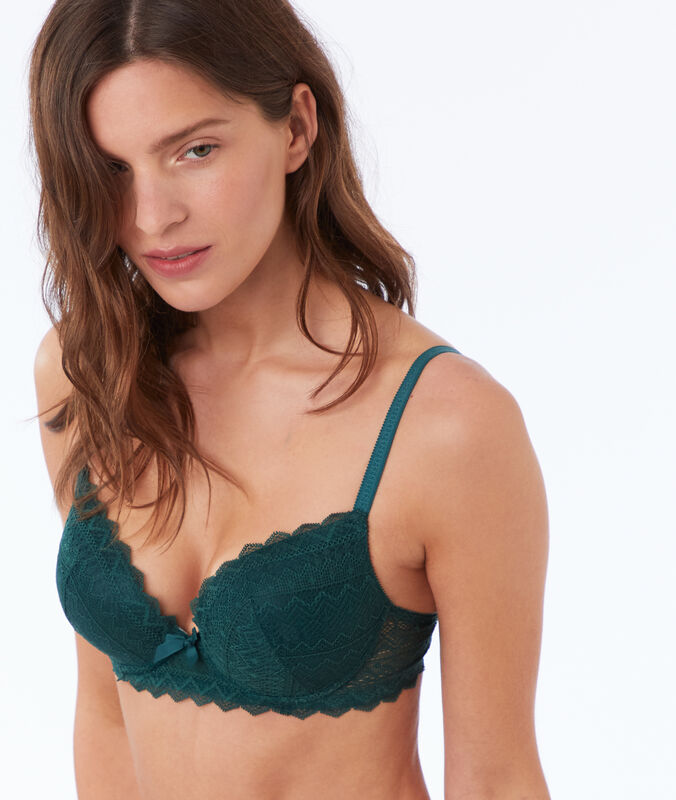 Soutien-gorge n°1 - magic up dentelle sapin.