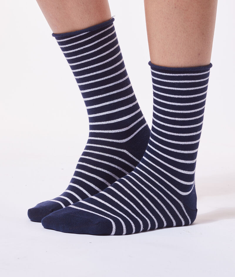 Chaussettes rayées