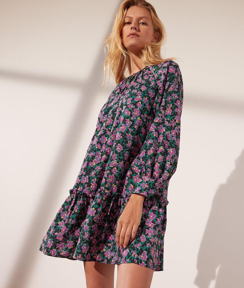 Kleid mit Blumendruck