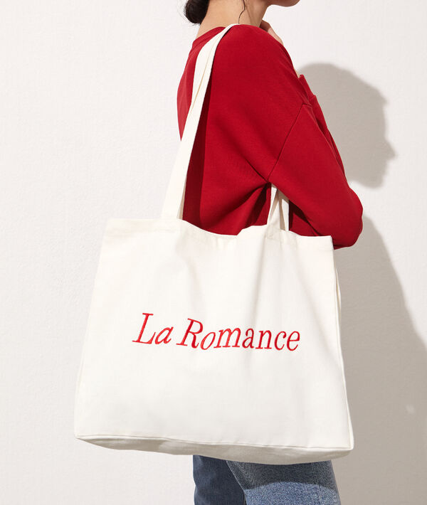 "Tote bag brodé ""La Romance"""