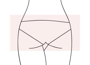 Guide de la culotte by Etam - Fesses carrées