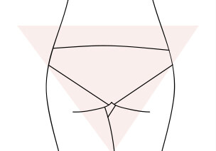 Guide de la culotte by Etam - Fesses en V